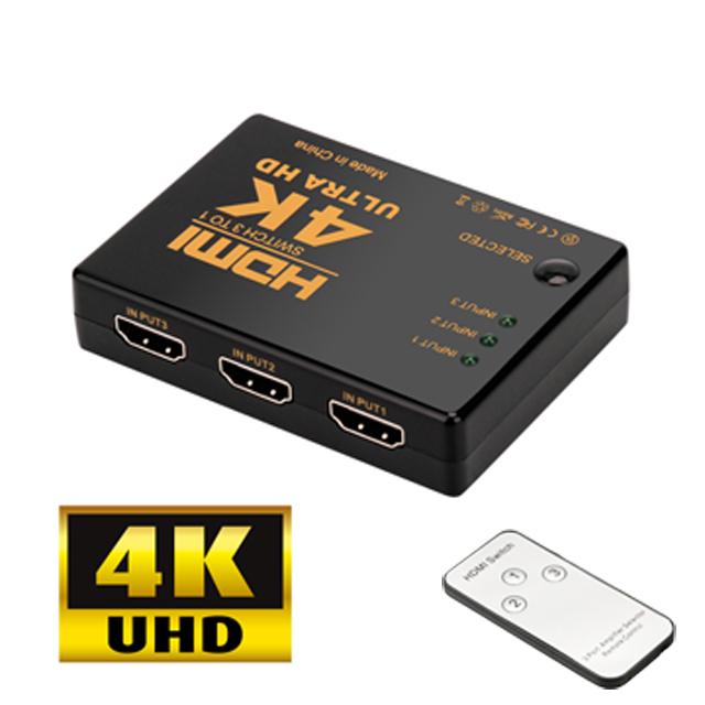 ◤ 電視訊號源自動切換功能,方便簡易 ◢◤ 附遙控器,方便使用 ◢◆ 3組4K*2K HDMI訊號輸入,1組4K*2K HDMI訊號輸出◆ 支援HDMI 1.4版,FULL 1080P,3D,4K*2