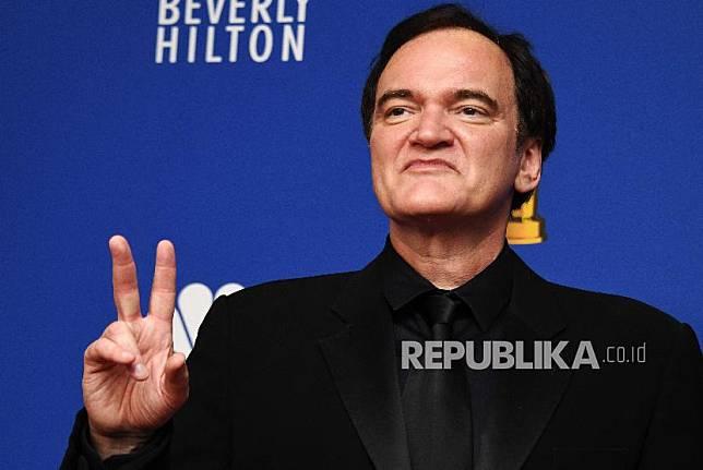 Bioskop milik sineas AS Quentin Tarantino menjadi sasaran vandalisme peserta aksi protes kematian George Floyd.