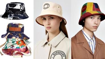 「漁夫帽」最修飾臉型!從「花色、材質、品牌」精準下手,6款2020年夏季人氣款一次看