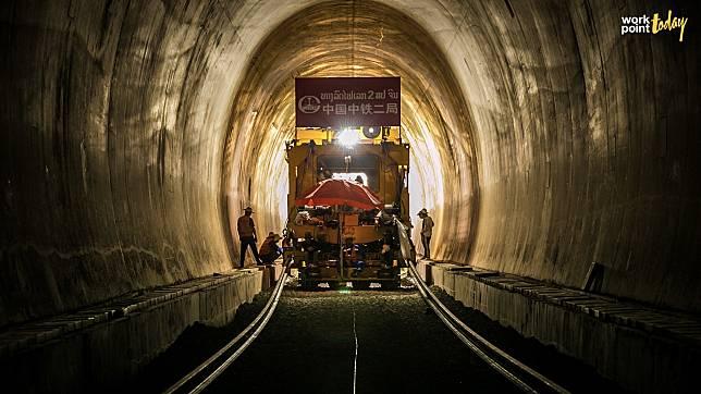 จีนเร่งวางรางรถไฟในลาว วางแผนเปิดใช้ปลายปี 64 ความเร็ว 160 กม./ชม.