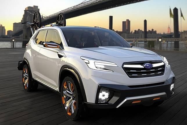 換上sgp 還會有hybrid Phev Subaru五代目forester最快2018年