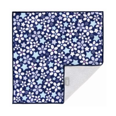 日本派迪 今治製有機優質純綿方巾-藍星之星