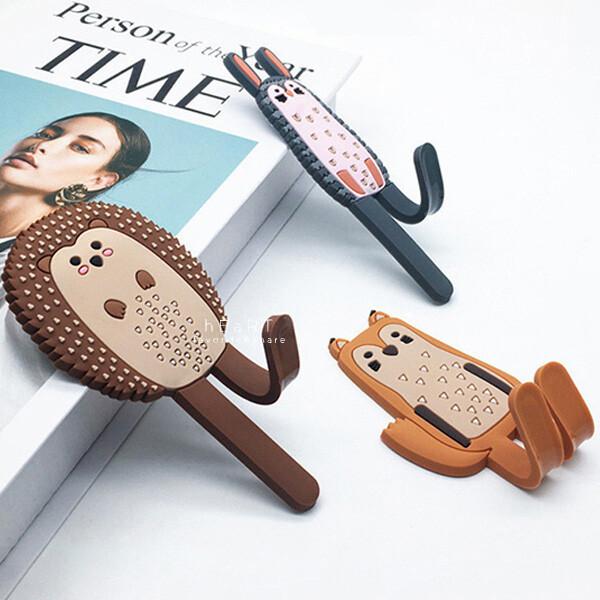 多種可愛動物造型磁貼設計可彎折方便吸在冰箱上當掛勾 商品規格材質軟膠+磁鐵,商品尺寸約長12x寬4x厚0.5cm