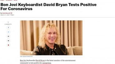 搖滾天團中鏢!「邦喬飛」鍵盤手確診 「這是流感不是瘟疫」樂觀隔離