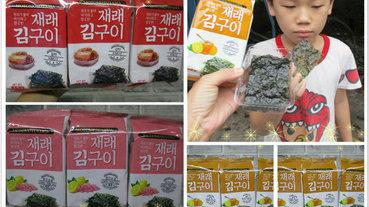 前衛創新口感【MOTOMOTOYAMA韓式海苔】--朝鮮海苔泡菜風味/檸檬玫瑰鹽風味/柚香風味。