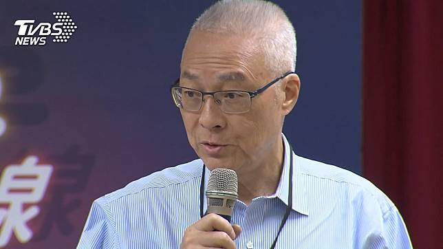 國民黨不分區立委的名單出爐,黨主席吳敦義遭到黨內無情抨擊。(圖/TVBS)