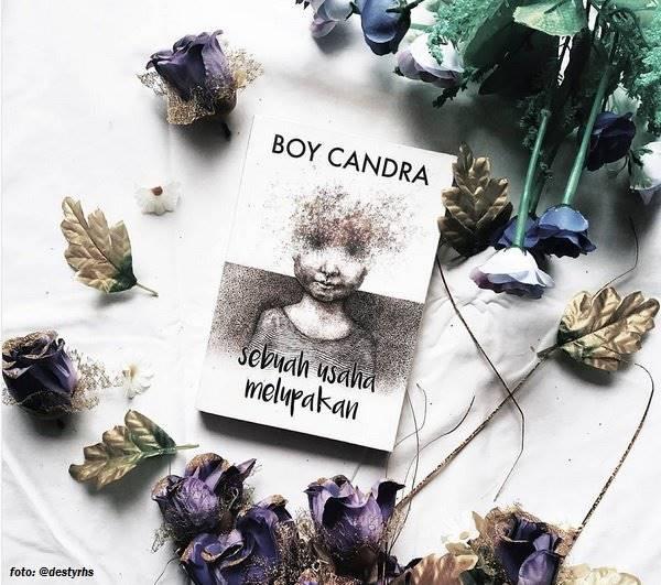 quote move on dalam novel sebuah usaha melupakan karya boy candra