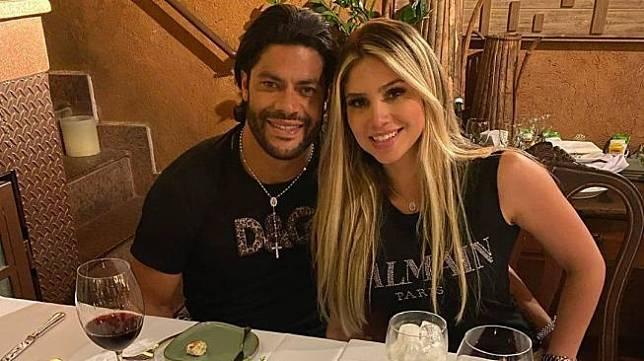 Hulk bersama Camila Angelo. (Instagram/@hulkparaiba).