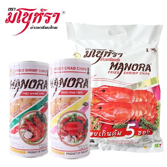 泰國 Manora 瑪努拉 特大包蝦片 蝦片 蟹片 蝦餅 蟹餅 馬奴拉