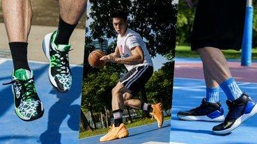 【街個鞋測 12 】秋天好想打籃球!字母哥、Kawhi 三雙超帥籃球鞋究竟該不該買?讓編輯直接幫你測~
