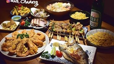 【台中美食】鐵漢柔情,一頓飯讓我們吃得溫飽又有溫情,關東煮、燒烤、宵夜,拿手串日式串燒居酒屋。