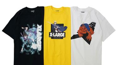 經典角色再現 XLARGE x《NARUTO》火影忍者 推出聯名系列