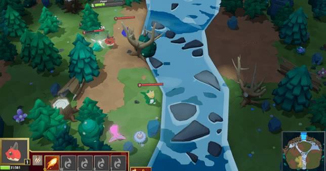 獨立新作《決戰進化島》可愛又好玩,像寶可夢參戰《魔獸爭霸3》🐣