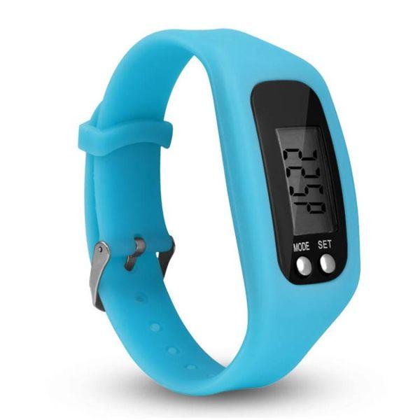 智慧計步運動手環表新款時尚多功能計步器硅膠手錶