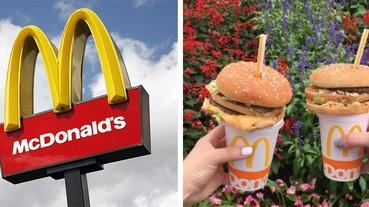就愛邊走邊吃~日本麥當勞出招,這樣的漢堡套餐妳沒見過吧!