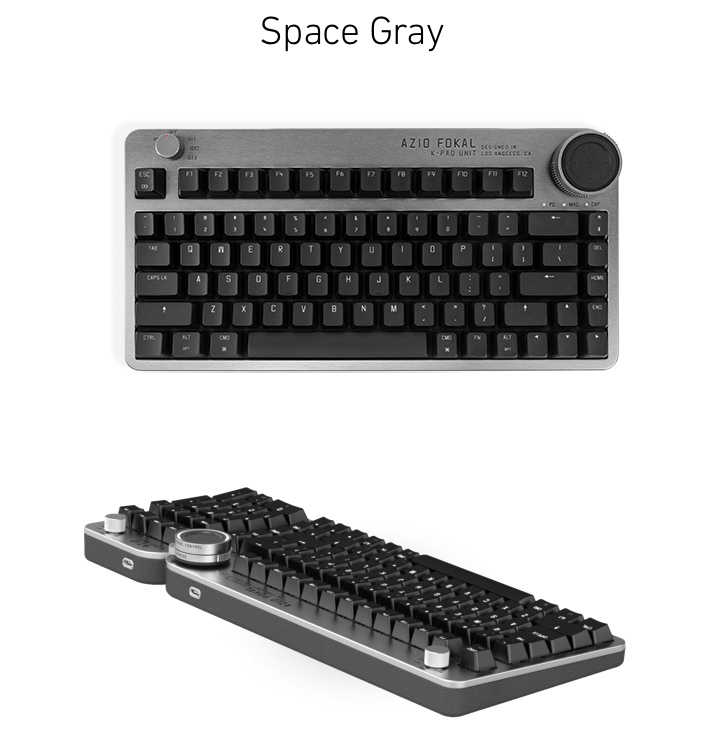 Fokal提供2種顏色選擇,黑色相對沉穩許多。
