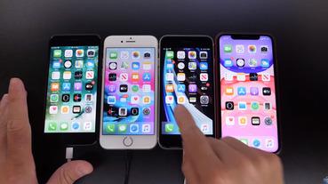 iPhone SE 2和iPhone 7、iPhone 8、iPhone 11電池續航力和速度實測