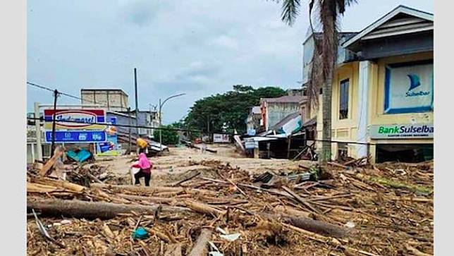 Kondisi terkini banjir bandang Luwu Utara (Istimewa)