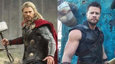 「雷神索爾」幕後替身肌肉也超養眼 與克里斯·漢斯沃成兩大健美男神!
