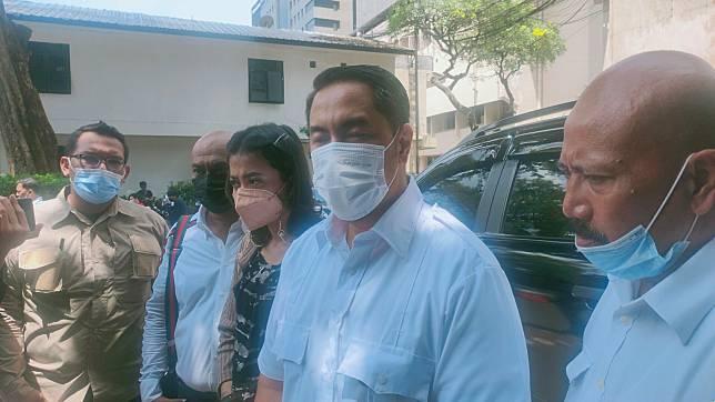Sunan Kalijaga saat ditemui di Polda Metro Jaya, Senin (22/3/2021).