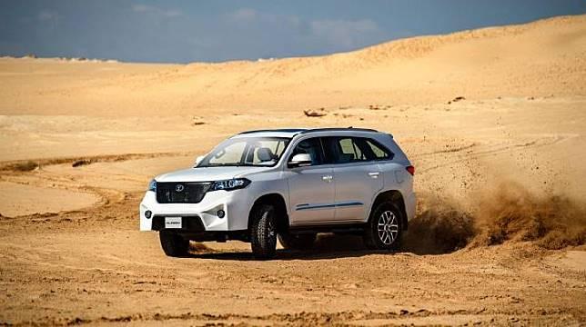 Sandstorm Alreem, SUV yang mirip dengan Esemka Garuda, (Sandstorm-Auto.com)