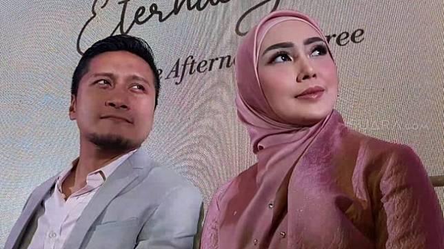 Arie Untung dan Fenita Arie [Yuliani/Suara.com]