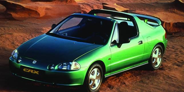Honda CR-X Del Sol (Autoevolution)