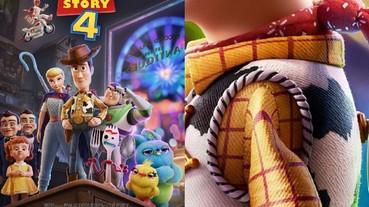胡迪被縫過的手臂!皮克斯展示《玩具總動員 4》玩具細節 花 24 年堆疊出角色細部引影迷驚呼!