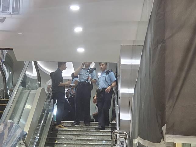 警員到場調查。林思明攝