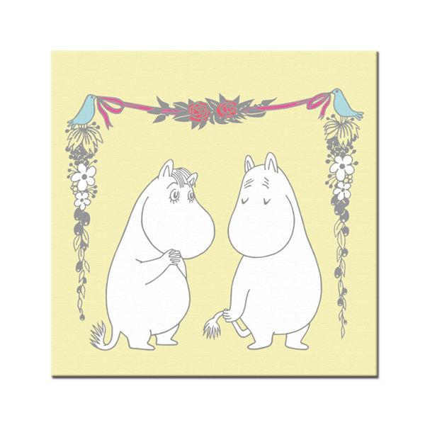 【Moomin】愛慕(80*80) - 無框畫