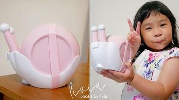 【兒童餐具開箱】芽比兔蝸牛五合一兒童餐具組│跩媽咪 跟著Livia享受人生
