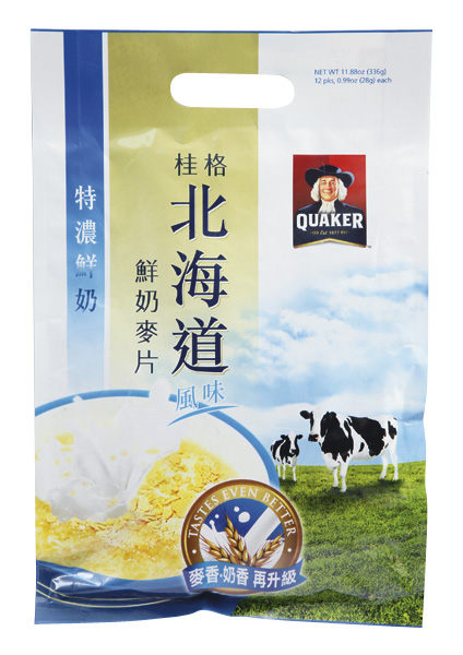 桂格鮮奶麥片特濃鮮奶12入