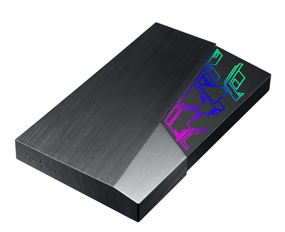 電競級燈光效果上身,華碩推出 Asus FX 2.5 吋外接硬碟