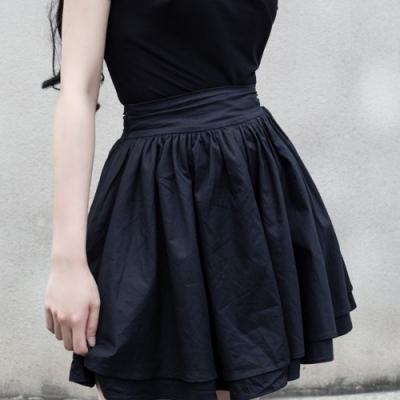 設計所在Style-夏季雙層仙女蓬蓬裙短裙(兩色)