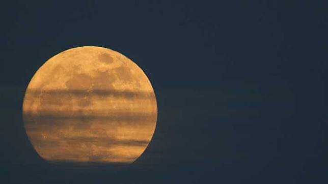 Supermoon. REUTERS