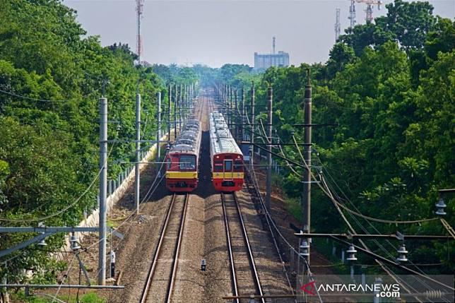 Hari pelantikan, KRL Rangkasbitung hanya sampai Stasiun Kebayoran