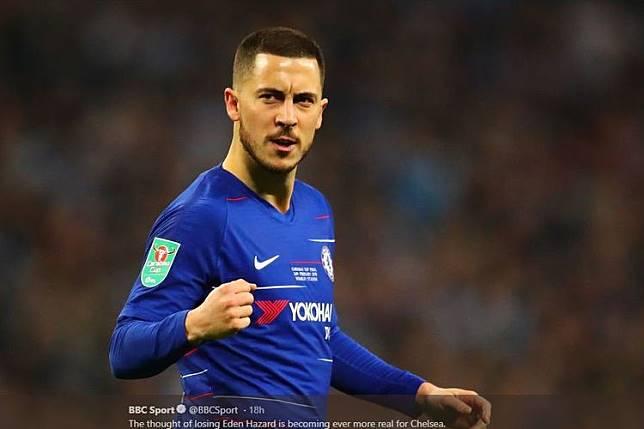 Penelitian: Eden Hazard, Pemain Hampir Gratis Paling Mahal di Eropa