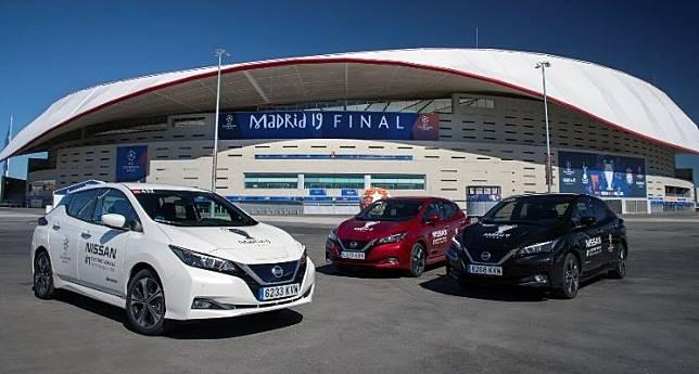 Ilustrasi. Mobil listrik Nissan Leaf