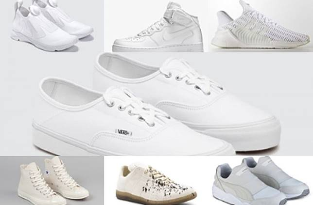 7 Rekomendasi Sneakers Warna Putih Yang Bisa Bikin Lo Mendadak