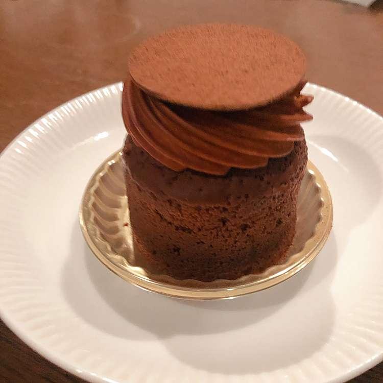 新宿区周辺で多くのユーザーに人気が高いチョコケーキエーグルドゥースのドゥーブルショコラの写真