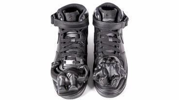 限量聯名! CDG Homme Plus × Nike Air Force 1 全新立體恐龍鞋確定登台