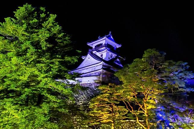 高知城擁有400年歷史,兼是日本唯一一座完整保留了天守閣和本丸的城池。(互聯網)