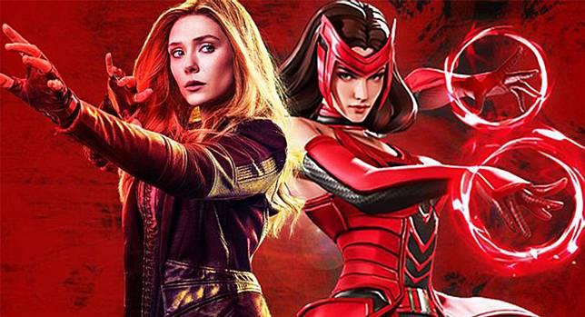15 Fakta Scarlet Witch yang Mengejutkan, Ternyata Anaknya Magneto!