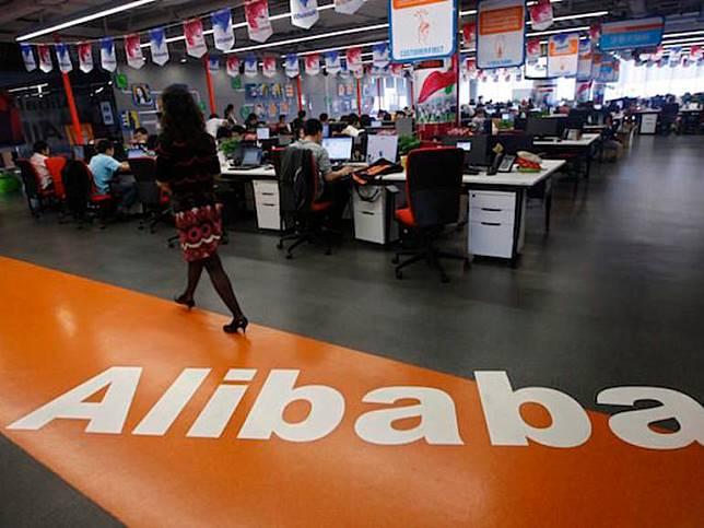 Ilustrasi Alibaba