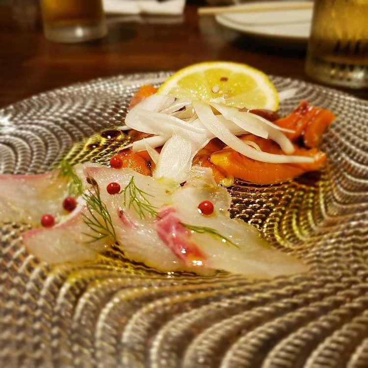 ユーザーが投稿した鮮魚2種のカルパッチョの写真 - 実際訪問したユーザーが直接撮影して投稿した新宿イタリアンnicoの写真