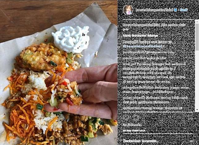 Reaksi Tamara Bleszynski Disebut Miskin Karena Makan Di Warteg
