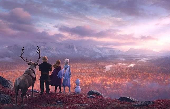 A still from 'Frozen 2.'