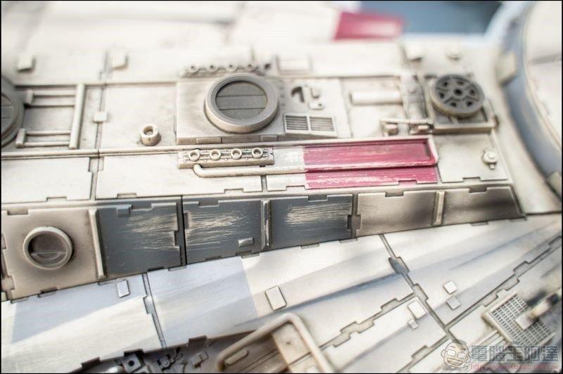 千年鷹號 Millennium Falcon 1:1 模型開箱 - 13