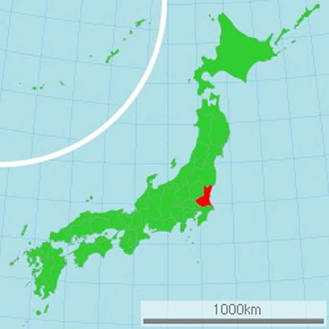 茨城縣位於北關東,距離東京其實不算遠。(互聯網)