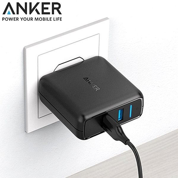 。Anker獨家的PowerIQn。美國Amazon第一大行動電源品牌